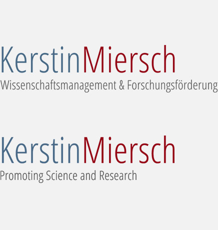 Wortmarke: Kerstin Miersch Wissenschaftsmanagement & Forschungsförderung, Kerstin Miersch Promoting Science and Research